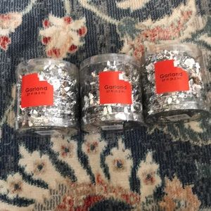 Other - Silver Garland Set of 3